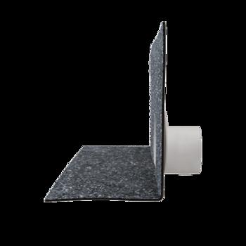 Chrlič bez potrubí s integrovanou bitumenovou manžetou