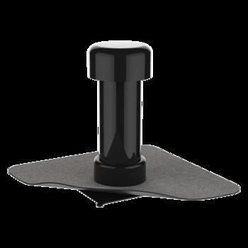 Odvětrávací komínek s integrovanou bitumenovou manžetou