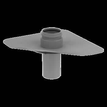 Prostup parozábranou s integrovanou PVC manžetou