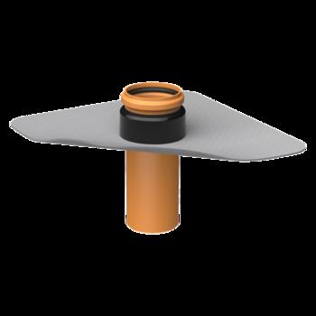 Otevřená čtyřhranná tvarovka  otevřená čtyřhranná
