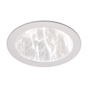 Stropní difuzér plastový bílý rovný