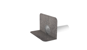 Sanační odvětrání s integrovanou bitumenovou manžetou sanační odvětrání