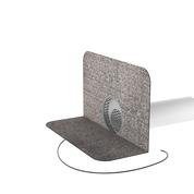 Odvětrání kanalizace s integrovanou bitumenovou manžetou odvětrání kanalizace