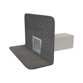 Chrlič hranatý s integrovanou bitumenovou manžetou