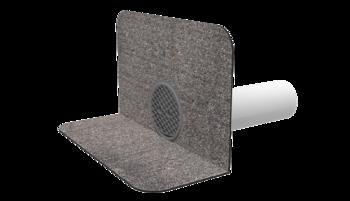 Chrlič kulatý s integrovanou bitumenovou manžetou
