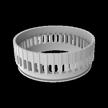 Vodorovná terasová vpust s integrovanou bitumenovou manžetou  vodorovná