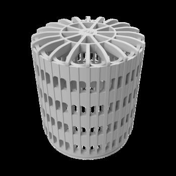 Svislá terasová vpust s integrovanou PVC manžetou  svislá