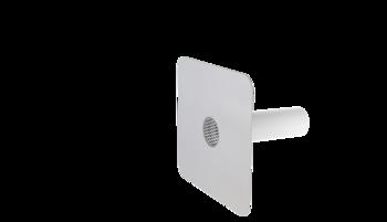 Pojistný přepad kulatý s integrovanou PVC manžetou