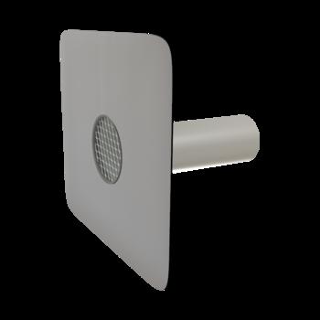 Pojistný přepad kulatý s integrovanou PVC manžetou  pojistný přepad kulatý