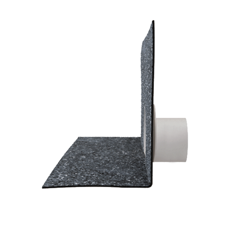 Chrlič bez potrubí s integrovanou bitumenovou manžetou bitumenová manžeta
