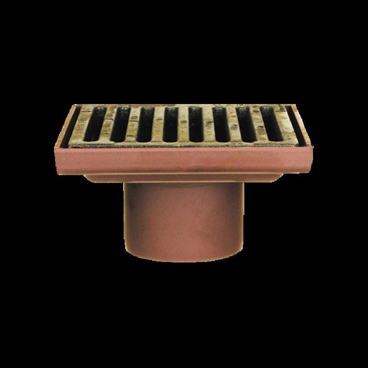Chrlič kulatý vyhřívaný s integrovanou PVC manžetou chrlič kulatý vyhřívaný