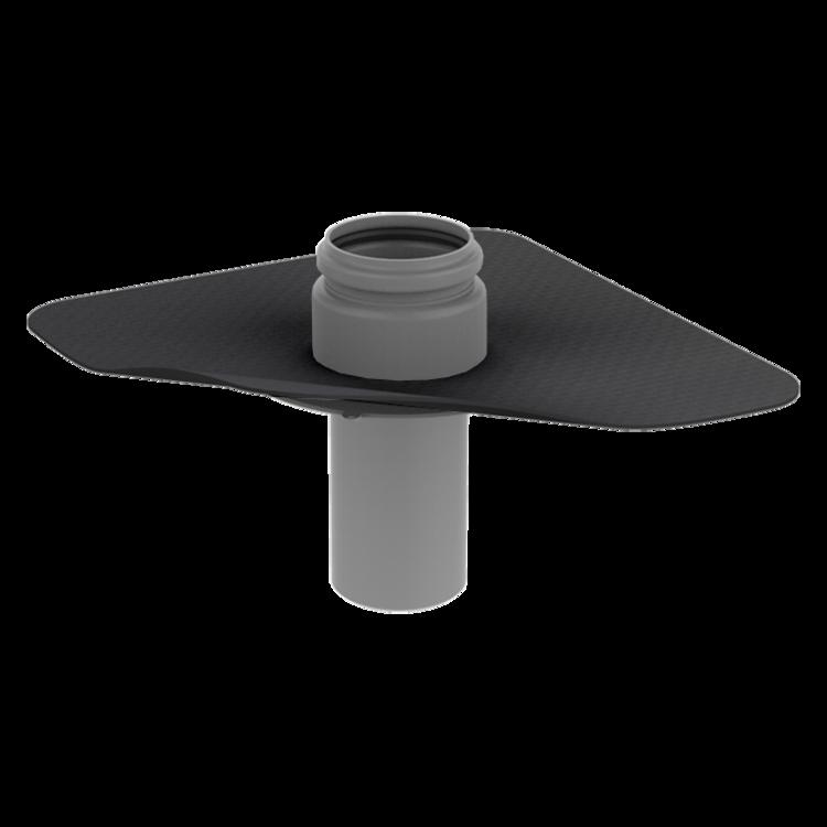 Prostup parozábranou s integrovanou manžetou na zakázku