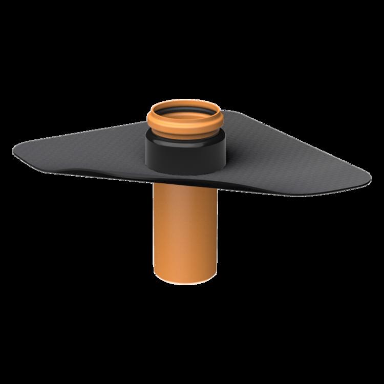 Prostup parozábranou XL s integrovanou manžetou na zakázku