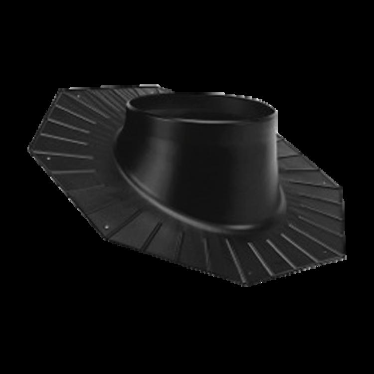 Lemování na šikmou střechu – šindele, hladká krytina