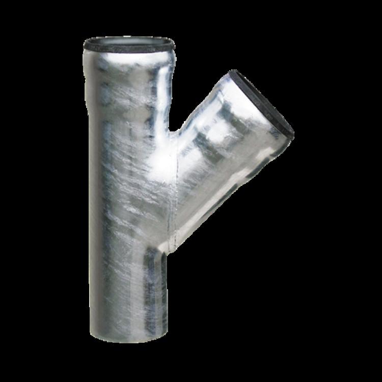 Odbočka pro odpadní potrubí LORO 45 ° odbočka 45°