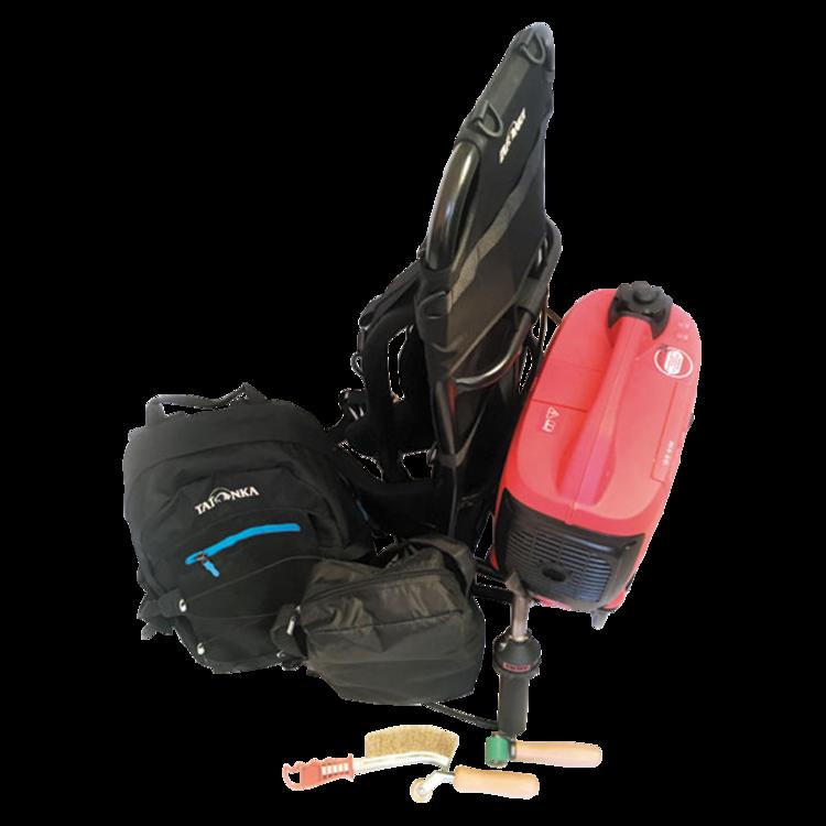 Mobilní horkovzdušná svářečka Leister s elektrocentrálou mobilní svářečka