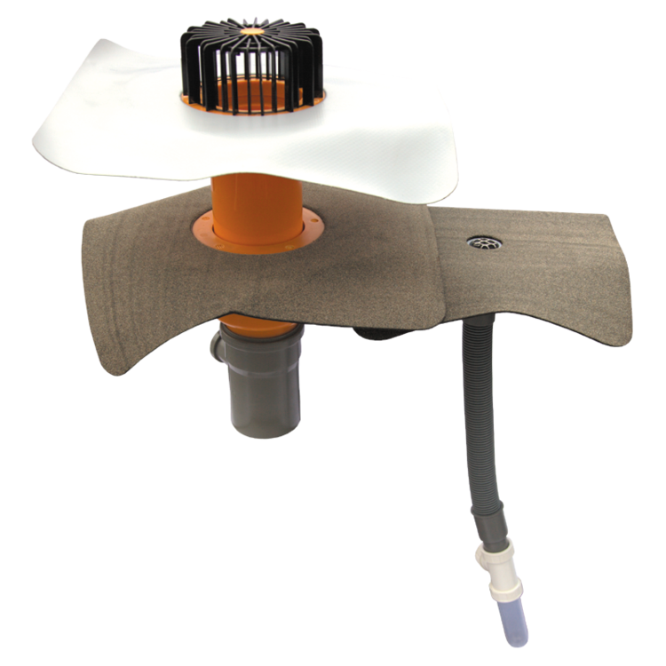 Prostup pro kabely XL s integrovanou manžetou na zakázku prostup pro kabely XL