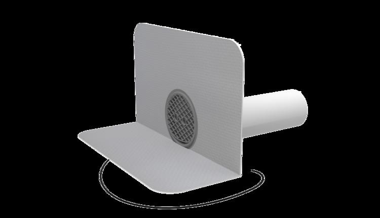 Chrlič kulatý vyhřívaný s integrovanou PVC manžetou