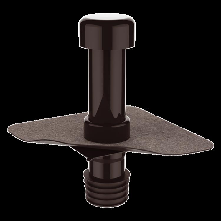 Svislá terasová vpust s integrovanou manžetou na zakázku svislá
