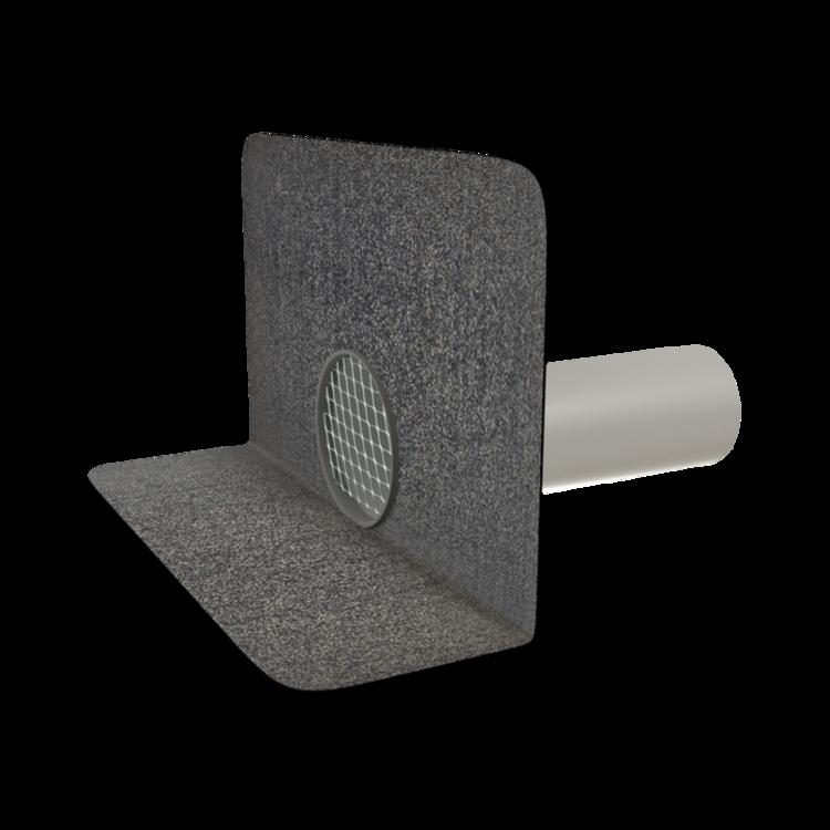 Chrlič kulatý s integrovanou bitumenovou manžetou chrlič kulatý